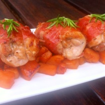 https://thepaddingtonfoodie.com/2012/11/17/summer-on-a-plate-prosciutto-wrapped-chicken-with-rosemary-and-garlic/