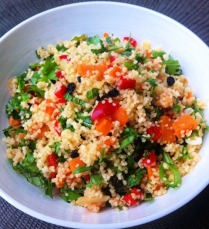 https://thepaddingtonfoodie.com/2012/11/21/herbed-couscous-salad-with-leek-sweet-potato-and-red-capsicum/