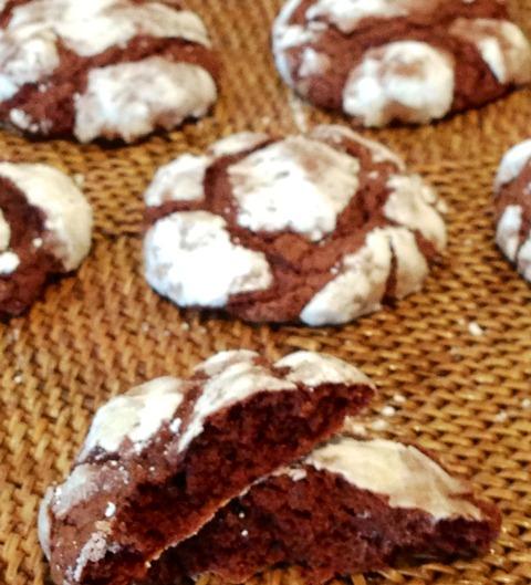 ChocolateCrackleCookies