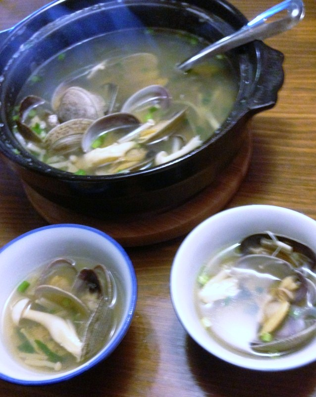 ezo clam soup