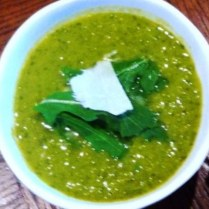 https://thepaddingtonfoodie.com/2012/10/15/fast-and-delicious-pea-and-rocket-soup/