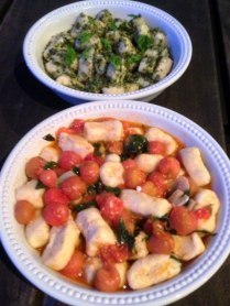 https://thepaddingtonfoodie.com/2013/04/03/the-flavours-of-autumn-ricotta-gnocchi-two-ways-with-a-fresh-vine-ripened-cherry-tomato-sauce-and-basil-pesto/