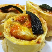 https://thepaddingtonfoodie.com/2013/06/01/a-pasta-bake-with-a-difference-roast-pumpkin-and-ricotta-rotolo-with-a-sage-burnt-butter-sauce/
