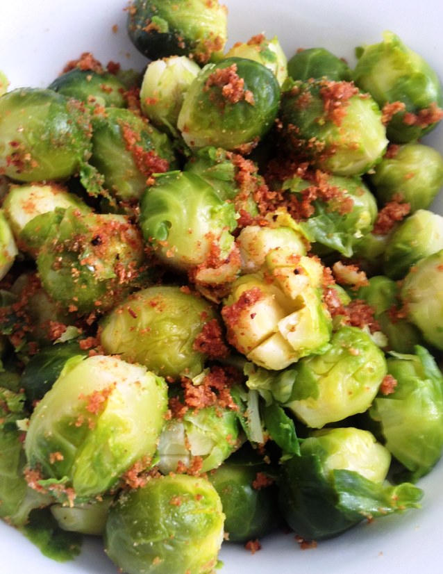 Brussels Sprouts With Toasted Breadcrumbs