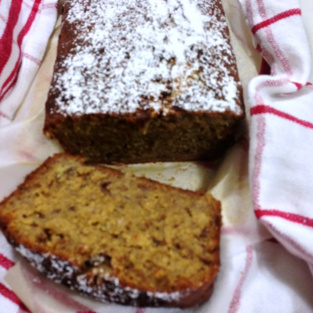 Sticky Date and Banana Loaf