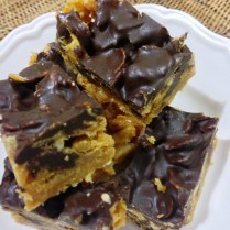 https://thepaddingtonfoodie.com/2013/07/17/melt-mix-no-bake-chocolate-peanut-butter-cornflake-slice/