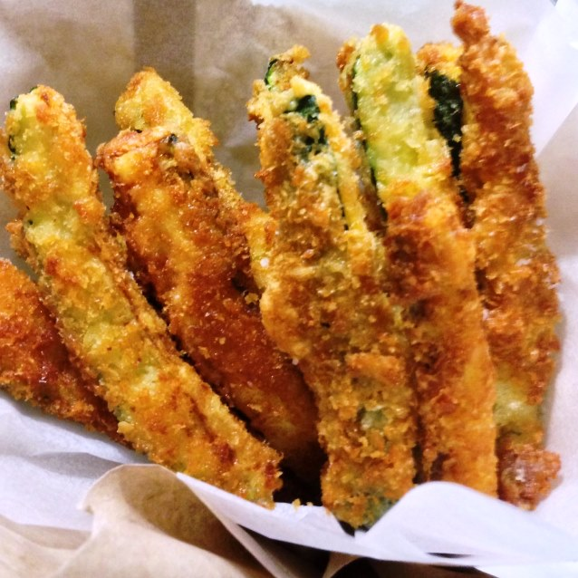 Oven Baked Zucchini Fries Recipe — Dishmaps