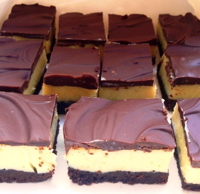 Black Bottom Chocolate Caramel Slice