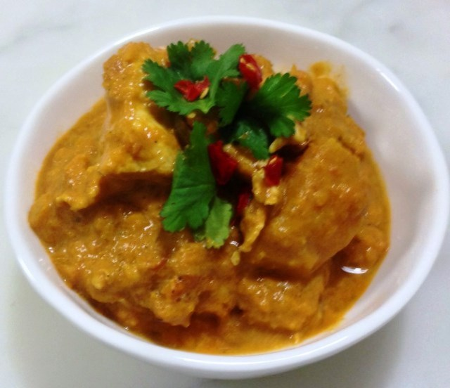 Butter Chicken With A Difference