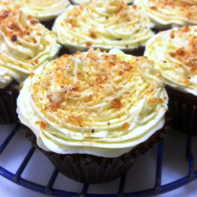 Super Moist. Super Delicious. Carrot Cupcakes With Lemon Cream Cheese ...