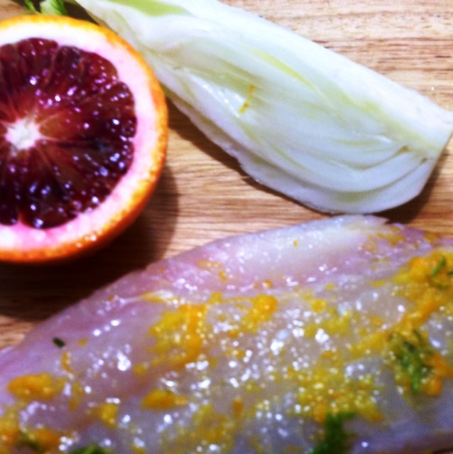 Citrus Cured Snapper