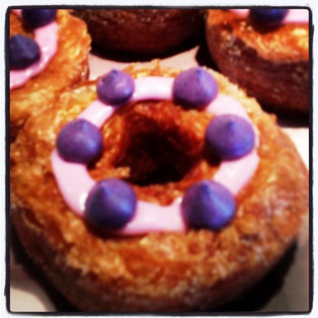 Adriano Zumbo Blueberry Cronut