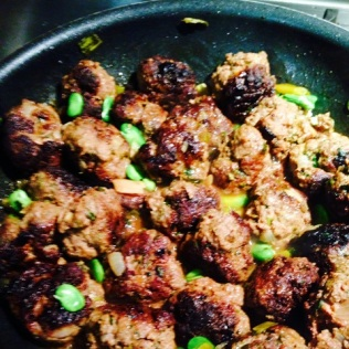 Beef and Lamb Meatballs