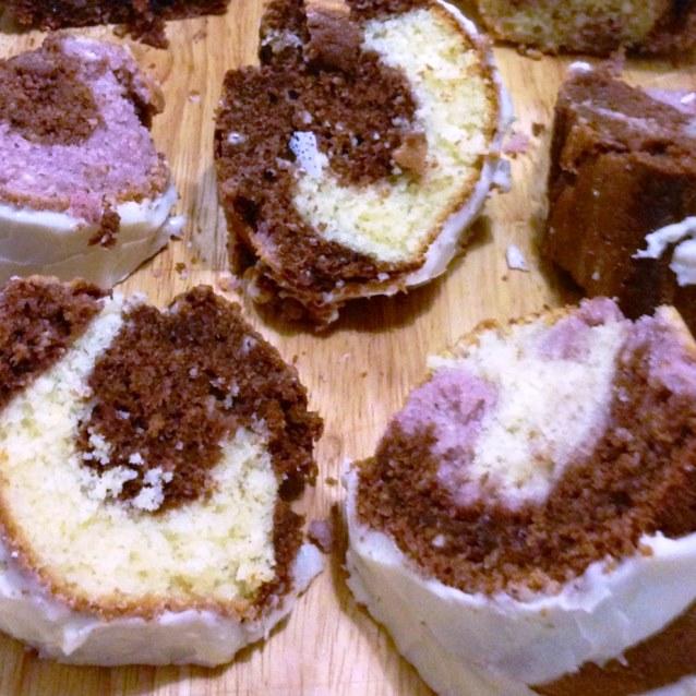 Chocolate Vanilla Marble Bundt Cake
