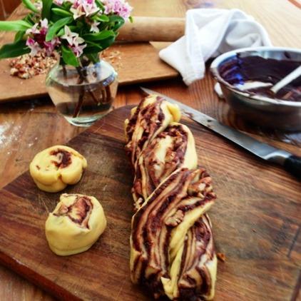 Chocolate Krantz Cake - Twisted