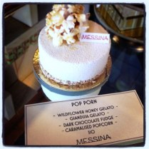 Messina Gelato's Pop Corn