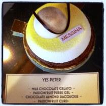 Messina Gelato's Yes Peter