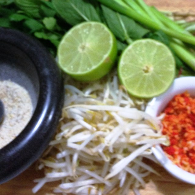 Pork Larb Salad Ingredients