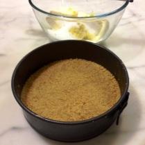 Baked Sour Cream Cheesecake Base