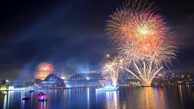 International Fleet Review Fireworks Spectacular