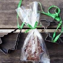Chocolate Fudge Christmas Trees