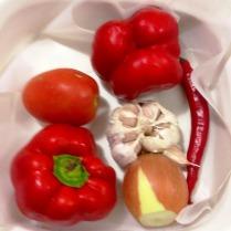 Romesco Salsa Roasted Vegetables