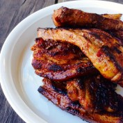 Barbeque Pork Belly Ribs