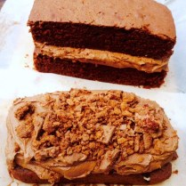 Chocolate Tim Tam Cake Layers