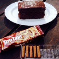 Chocolate Tim Tam Cake