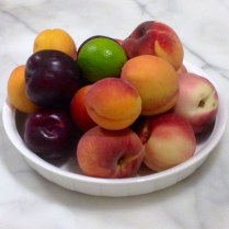 Mexican Style Summer Stone Fruit Salad
