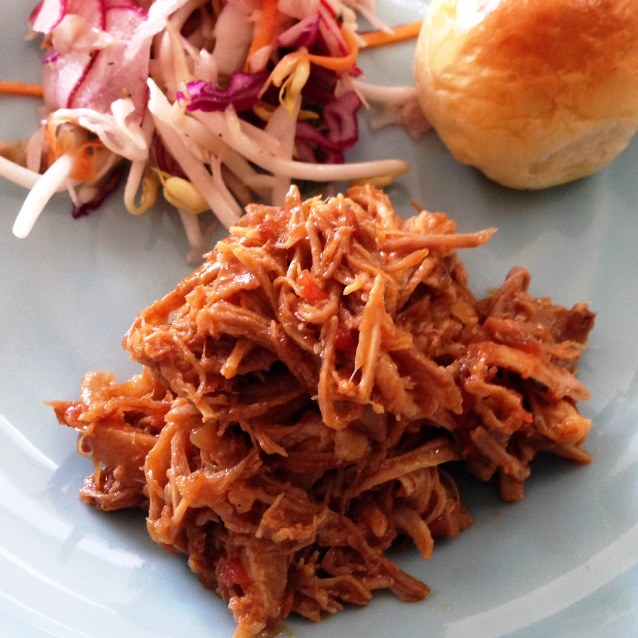 Pulled Pork And Asian Slaw