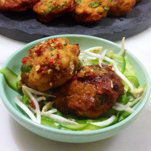 Spicy Thai Fishcakes