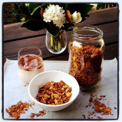 Anzac Day Granola With Milo