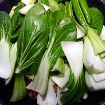 Lion's Head Meatballs With Bok Choy