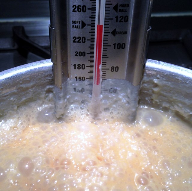Perfectly Smooth Old Fashioned Fudge At Soft Ball Stage Candy Thermometer