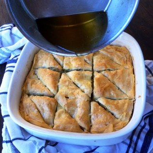 Pistachio and Walnut Baklava With Lemon Cardamom Syrup