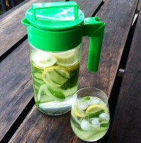 Lemon, Mint and Cucumber Infusion Water