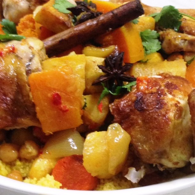 Roast Chicken And Vegetables Ottolenghi Style