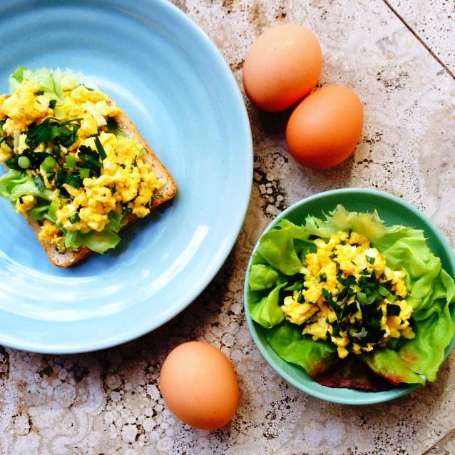 Egg Salad With Dijon Mustard Vinaigrette