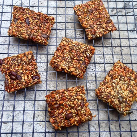 Sweet And Salty Five Seeds Crackers
