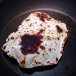 Yoghurt Flatbread Puffed And Charred