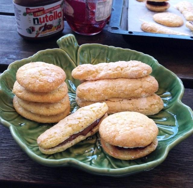 Savoiardi. Italian Sponge Finger Biscuits