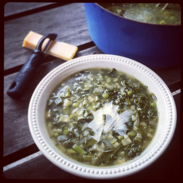 Lean And Mean Green Vegetable Soup