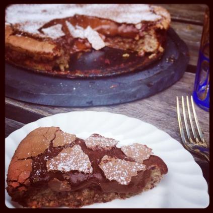 Chocolate Hazelnut Bon Vivant Torte