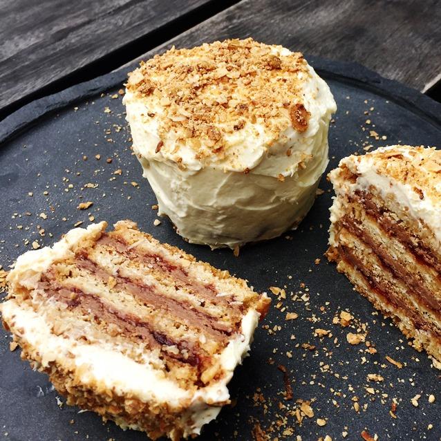 Little Anzac Ripple Cake
