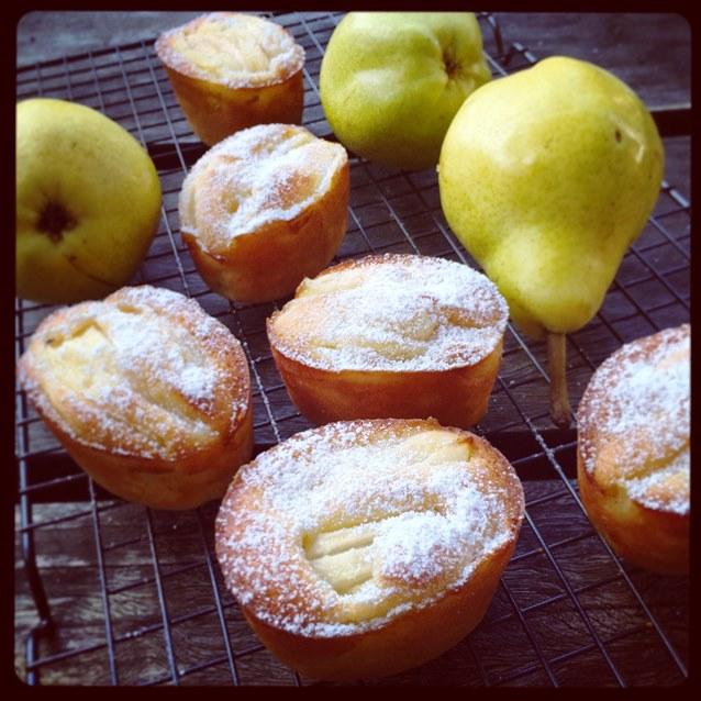 Pear Friand