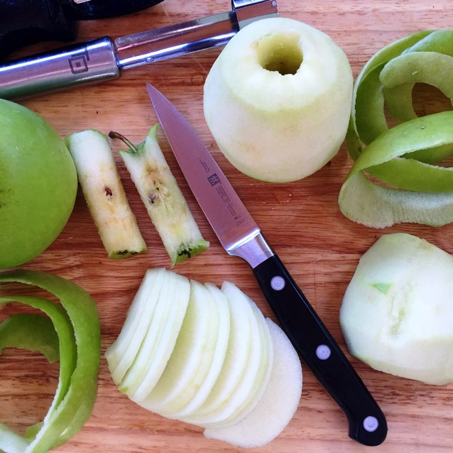 Apple Rose Tartlets - Preparation