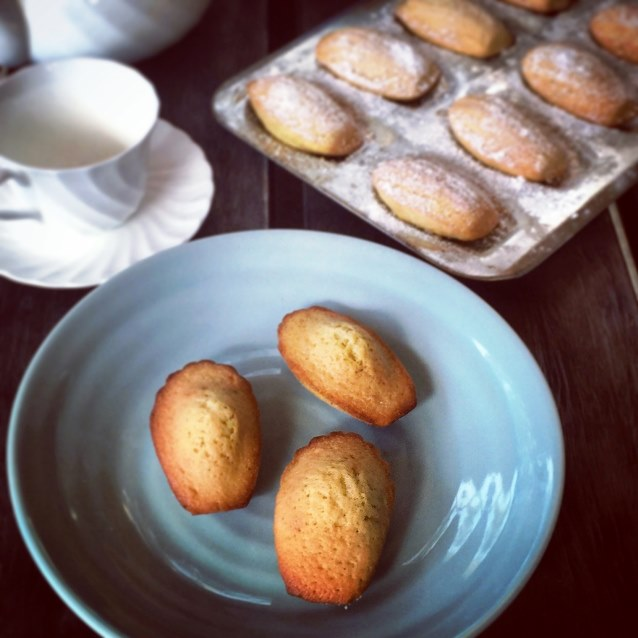 Madeleines Browned Butter and Lime