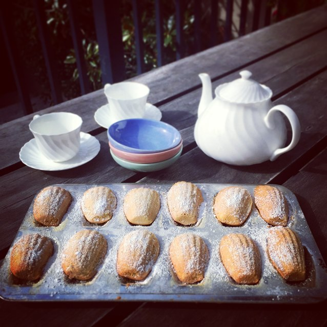 Madeleines With Browned Butter and Lime