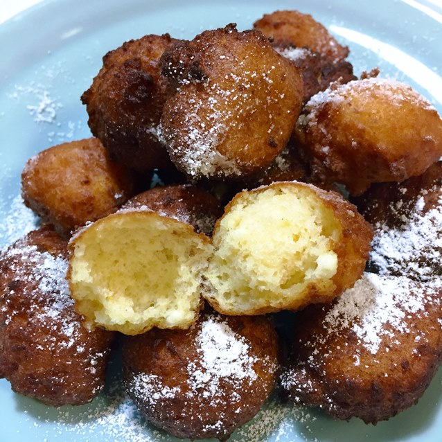 Lemon Scented Fritters